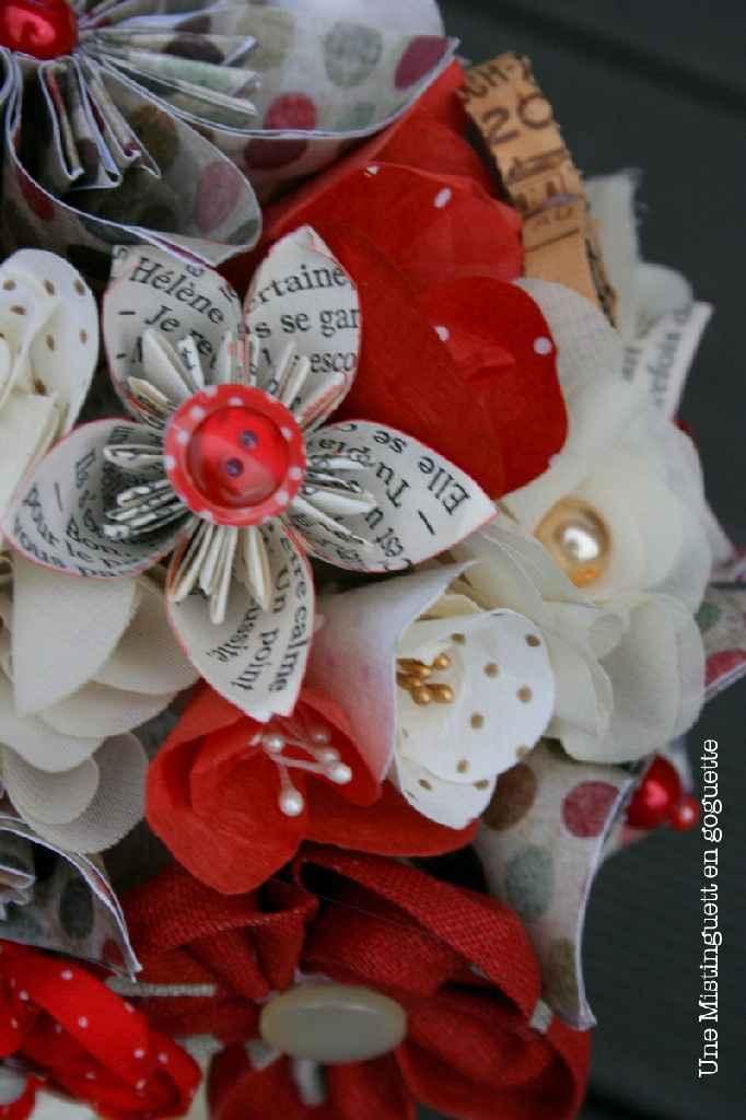 Bouquet en origami - 1
