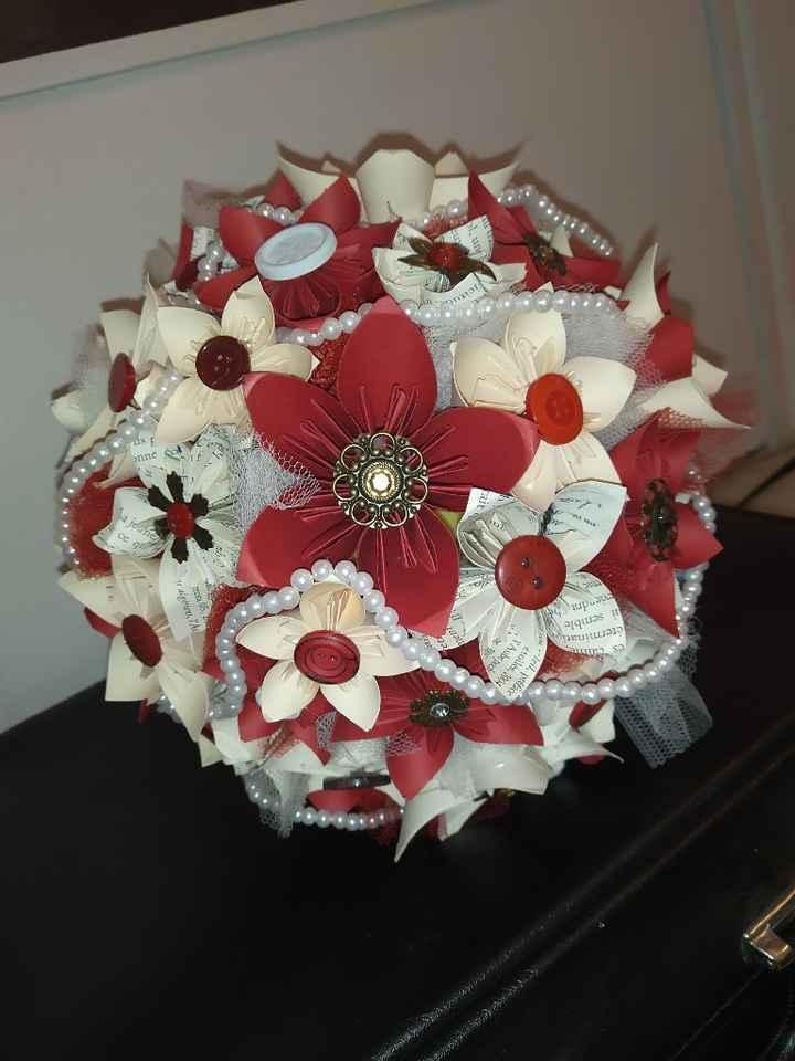 Mon bouquet origami 😍 - 2