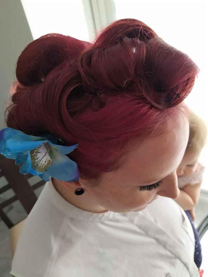 Mon premier essai coiffure - 3