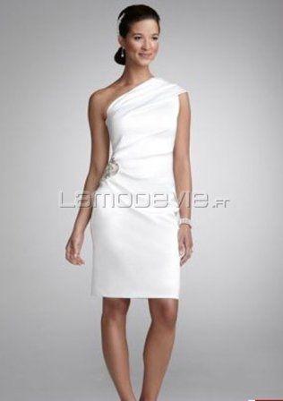 Robes courtes pour mariage civil