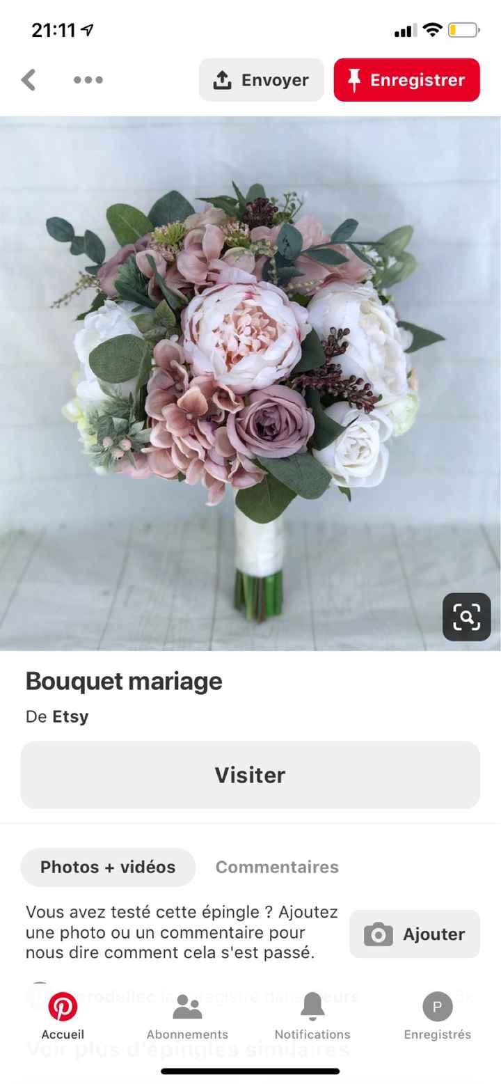 Bouquet de mariée - 1