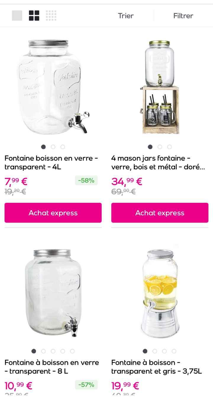 Fontaine à Jus / Cocktail - 1