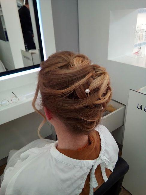 Inspiration : les coiffures des mariées 22