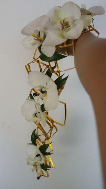 bouquet armature fil alu