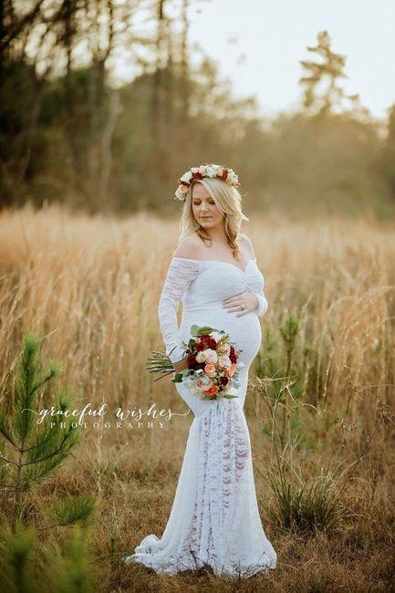 Mariée enceinte : photos 2