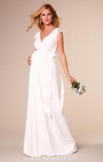 Mariée enceinte : photos 4