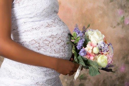Mariée enceinte : photos 5