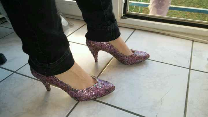 Chaussures a customiser - 2