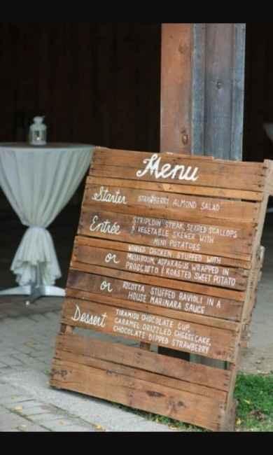 menu entrée resto