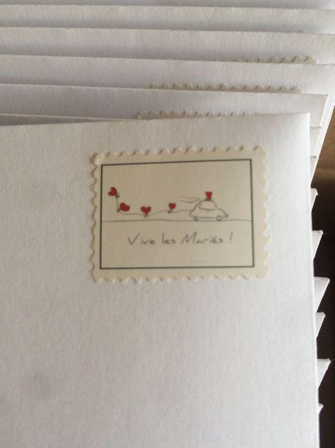 Bons plans stickers ou tampons pour les enveloppes - 1
