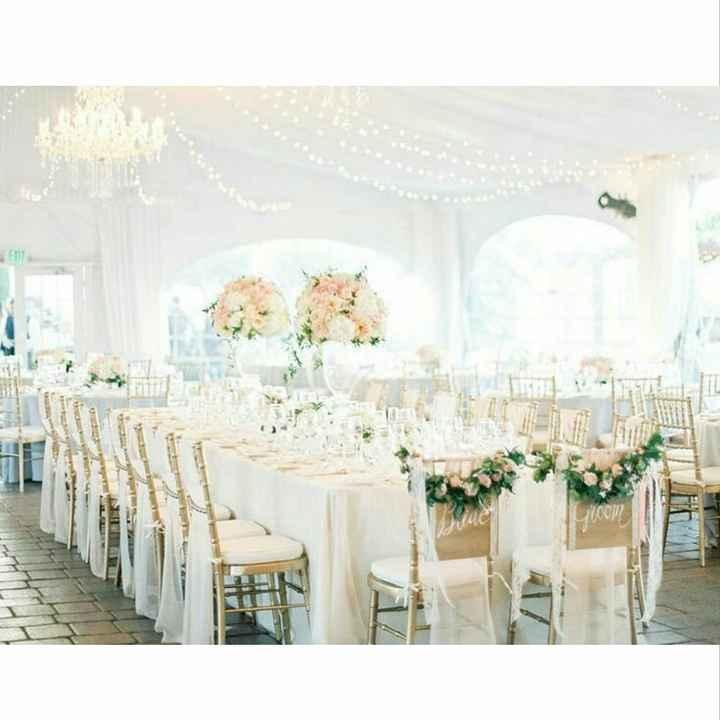 Théme de mon mariage / décoration de salle