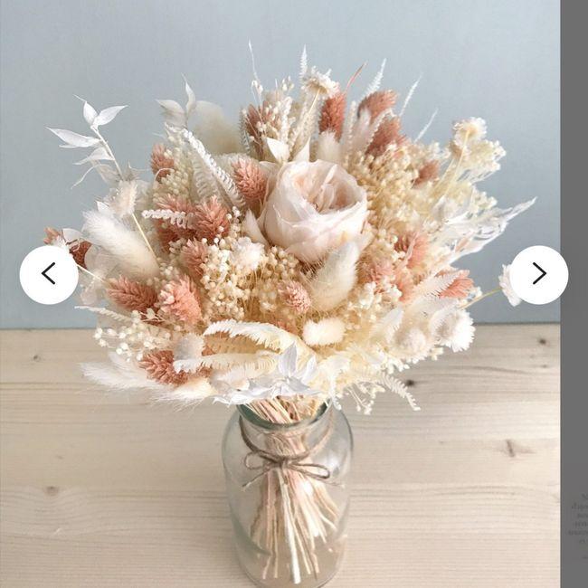 Bouquet de Mariee fleurs sechees? 1