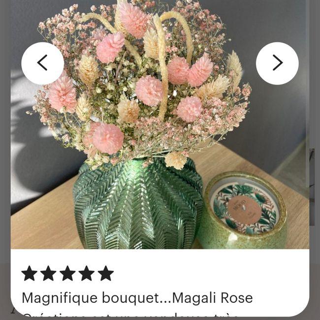 Bouquet de Mariee fleurs sechees? 2