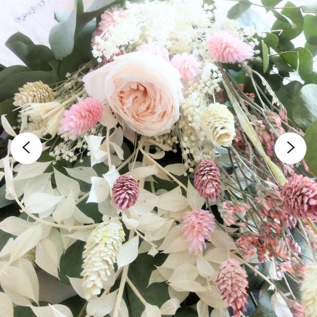 Bouquet de Mariee fleurs sechees? 3
