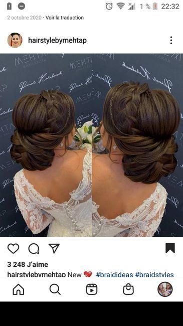 Essai coiffure pas convaincu. 1