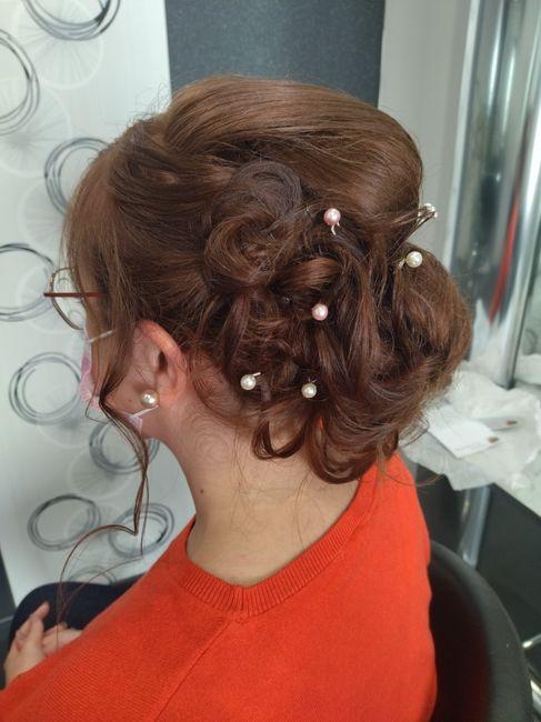 Essai coiffure pas convaincu. 3