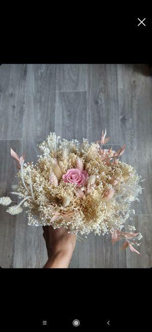 Bouquet de Mariee fleurs sechees? 4