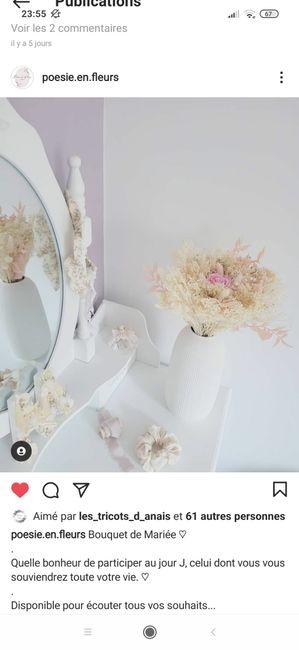 Bouquet de Mariee fleurs sechees? 5