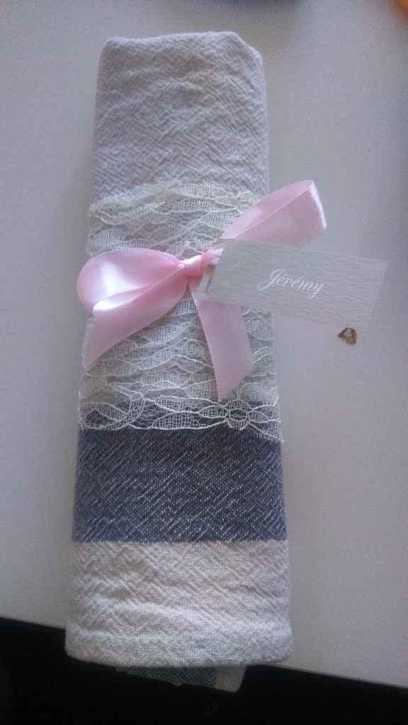 Essai serviette de table - 2