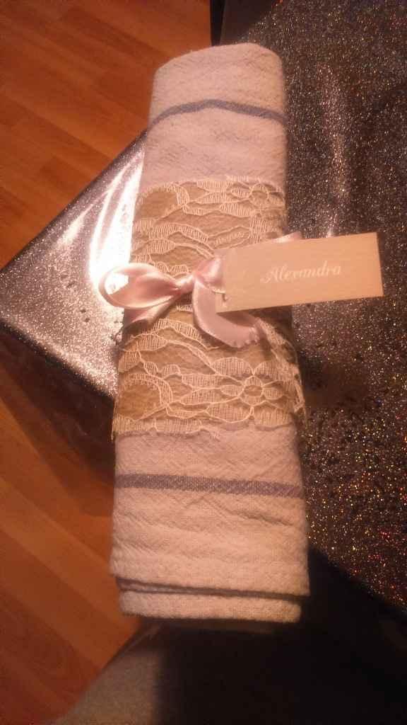 Essai serviette de table - 3
