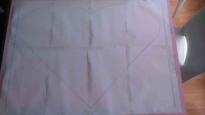 Planche coeur - Modèle