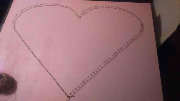 Planche coeur - sans le modèle 2