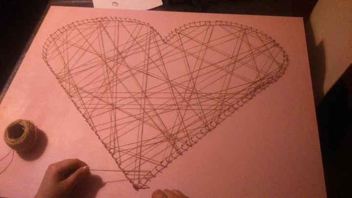 Planche coeur - ficelle 1