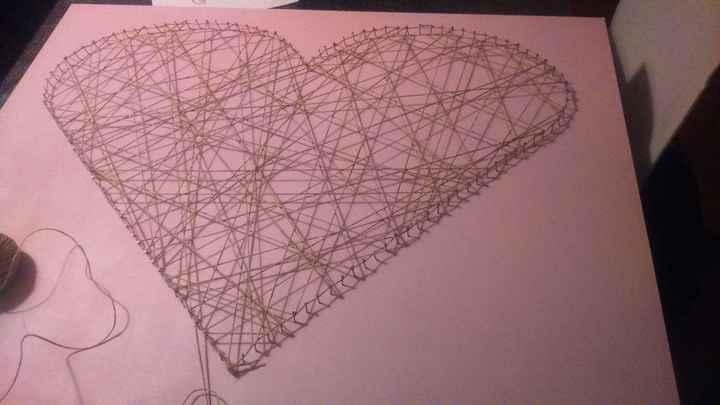 Planche coeur - ficelle 2