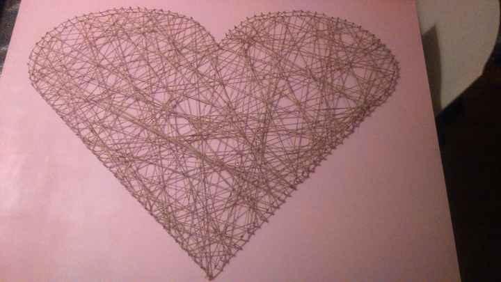 Planche coeur - résultat final