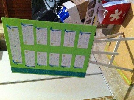 Plan de table 2 !