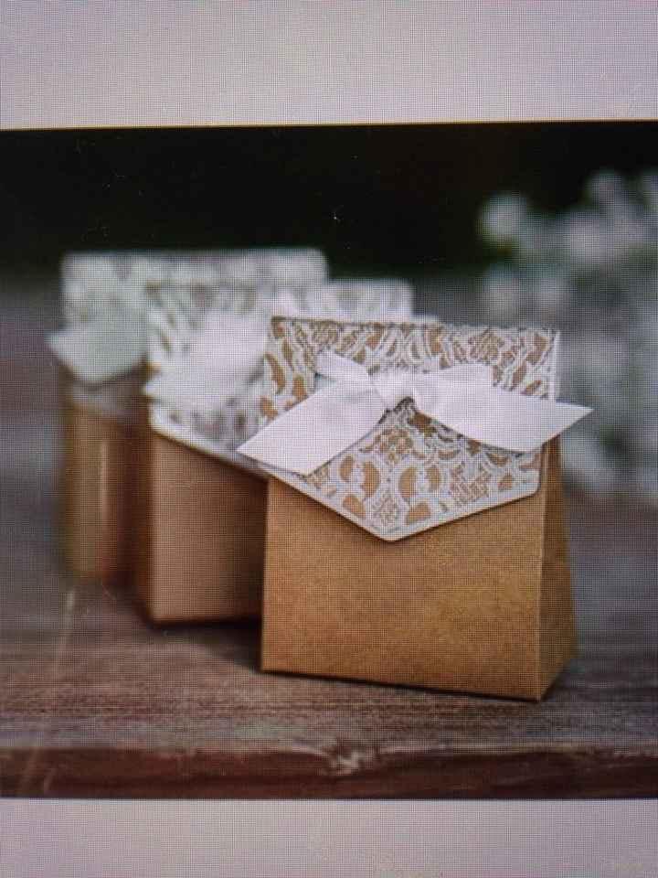 Les boîtes à dragées - 1