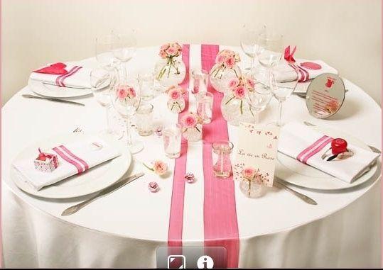 Ruban décoration table
