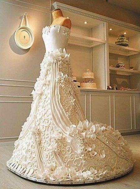 Gâteau de mariage en forme de robe - Page 2 - Banquets - Forum ...