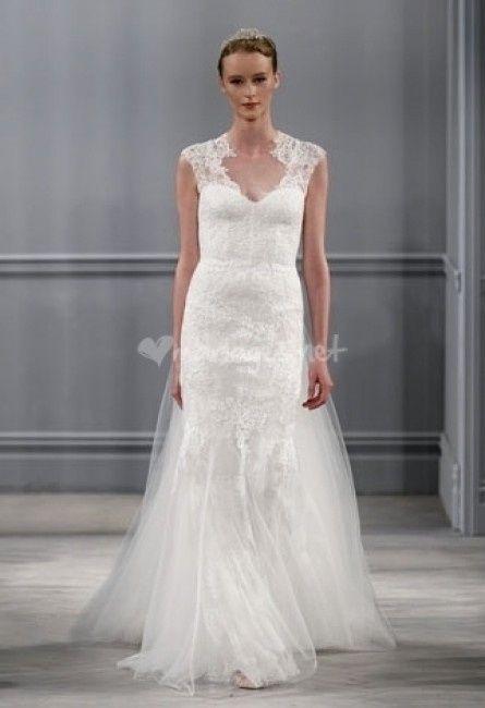 robes de mari e monique lhuillier collection 2014 mode