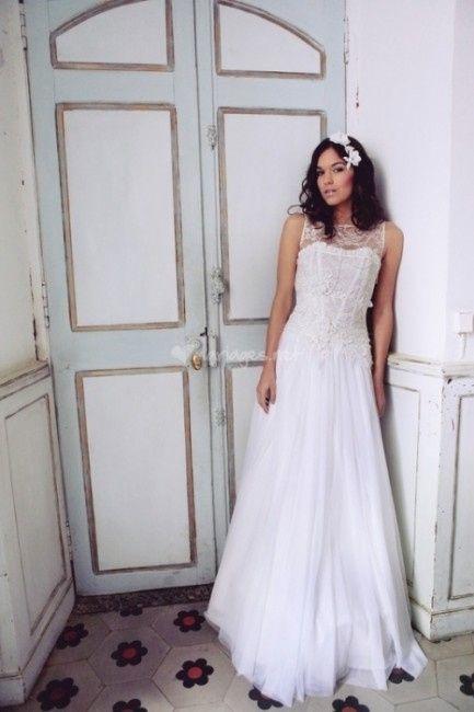 ab9a103d889 Robes de mariée elsa gary et les jolies filles collection 2014 ...