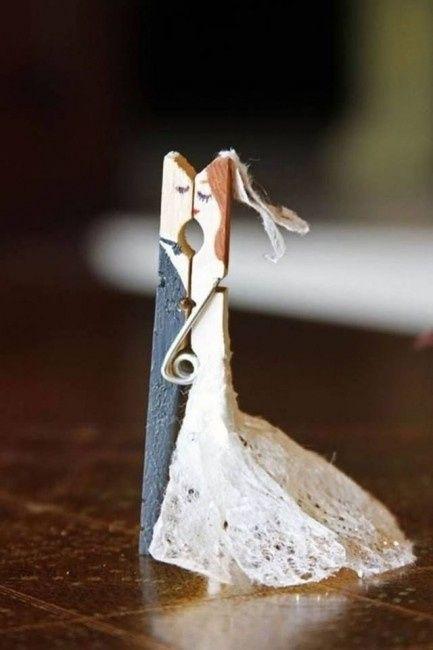 8 id es de d co avec des pinces linge d coration forum - Pince a linge mariage ...