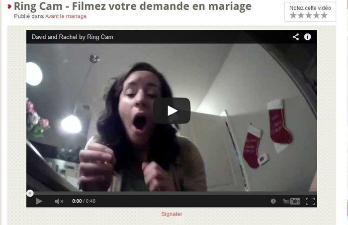Ring Cam : une caméra cachée pour votre demande en mariage