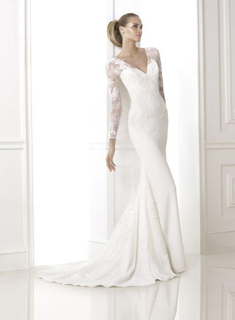 OUI ou NON aux robes de mariée avec manches longues ?