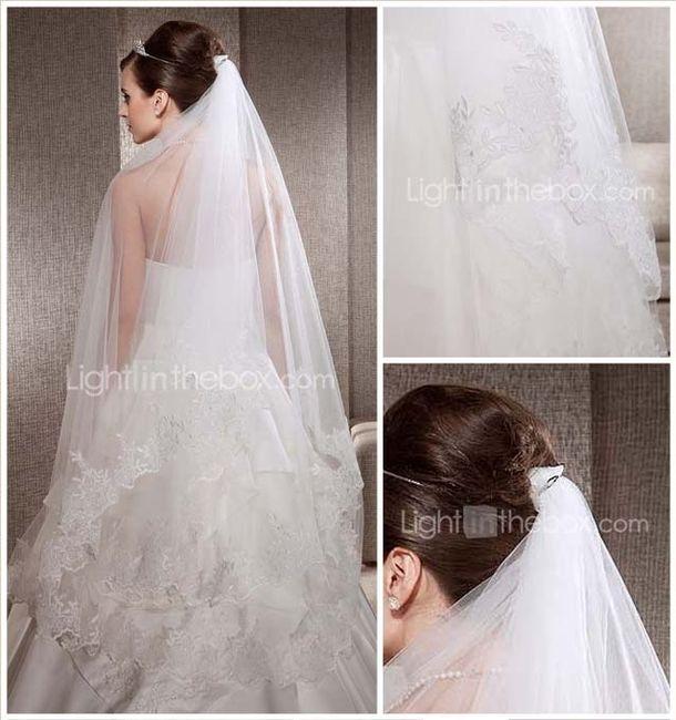Idée de coiffure de mariée avec voile