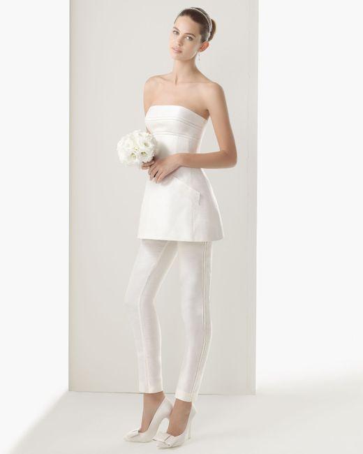 choisir le plus récent 100% authentique comment acheter 18 idées de look de mariée en pantalon: quelle est votre ...