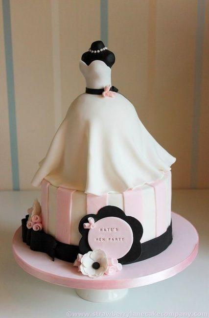 10 gâteaux spécial enterrement de vie de jeune fille