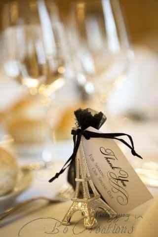 Cadeau mariage thème paris