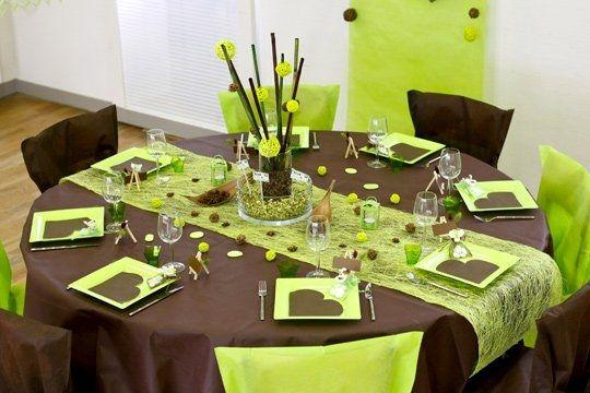 Deco chocolat et vert anis d coration forum for Cuisine chocolat et vert anis