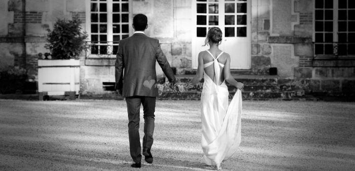 Votre chéri va-t-il voir votre robe ?