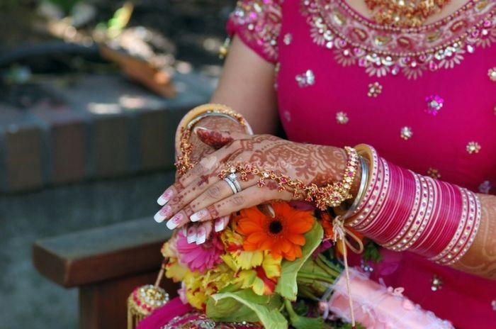 Henne mariage arabe