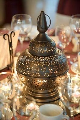 Petite lanterne pour centre de table