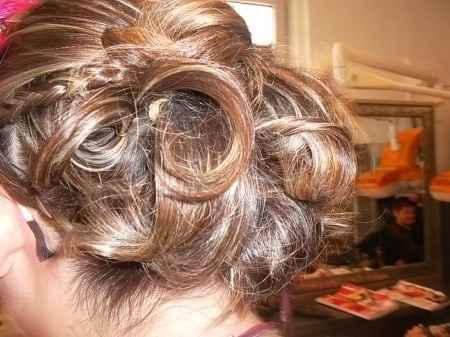 essai coiffure derriere