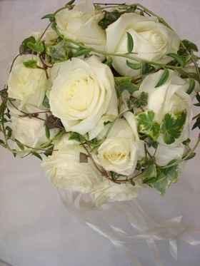 Un joli bouquet rond