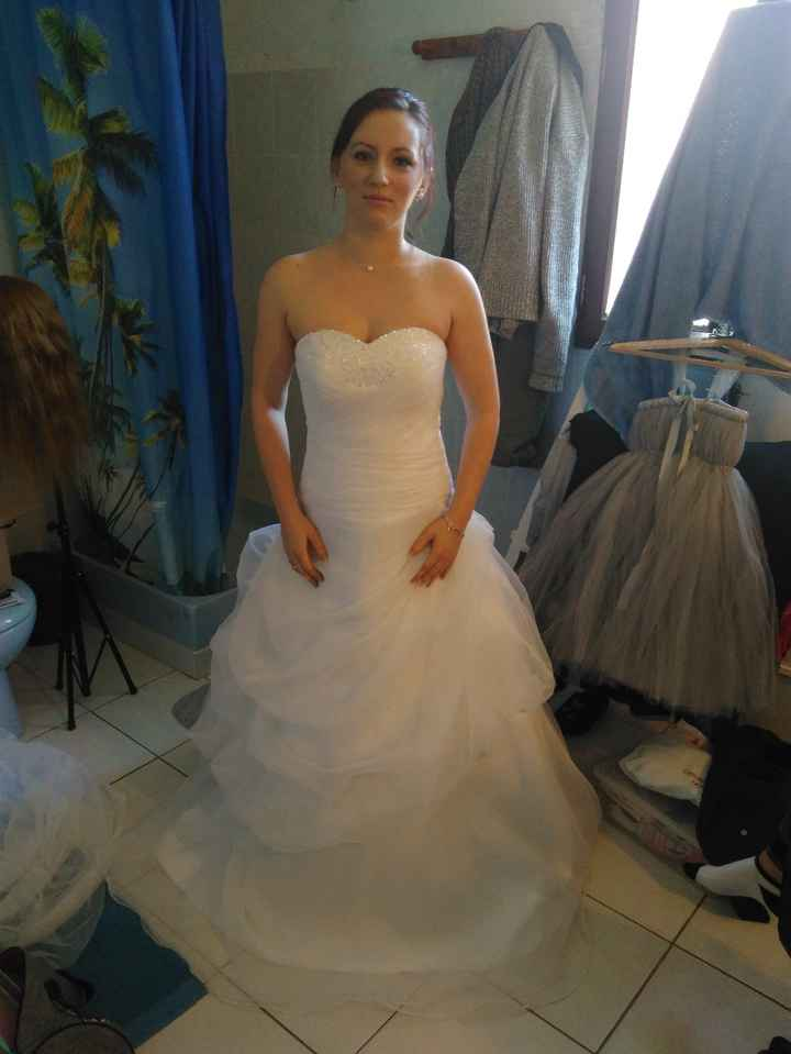 Achat robe sur le site robedumariage.com 1