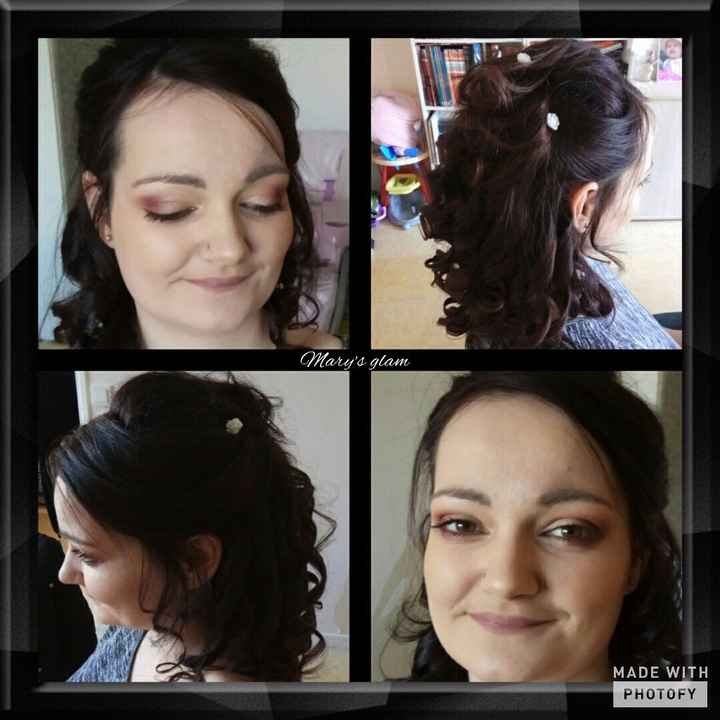 Mon essai coiffure et maquillage